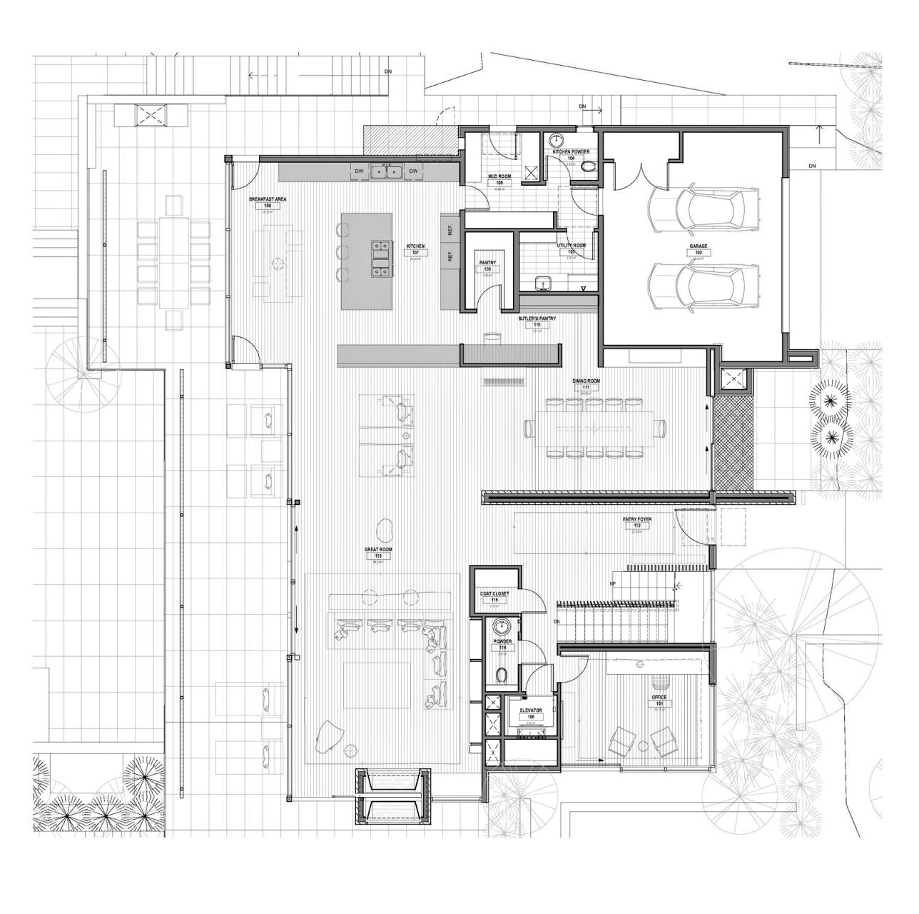 Floor Plan - Stone Luxury Residence - Forest Hill, Toronto, ON, Canada