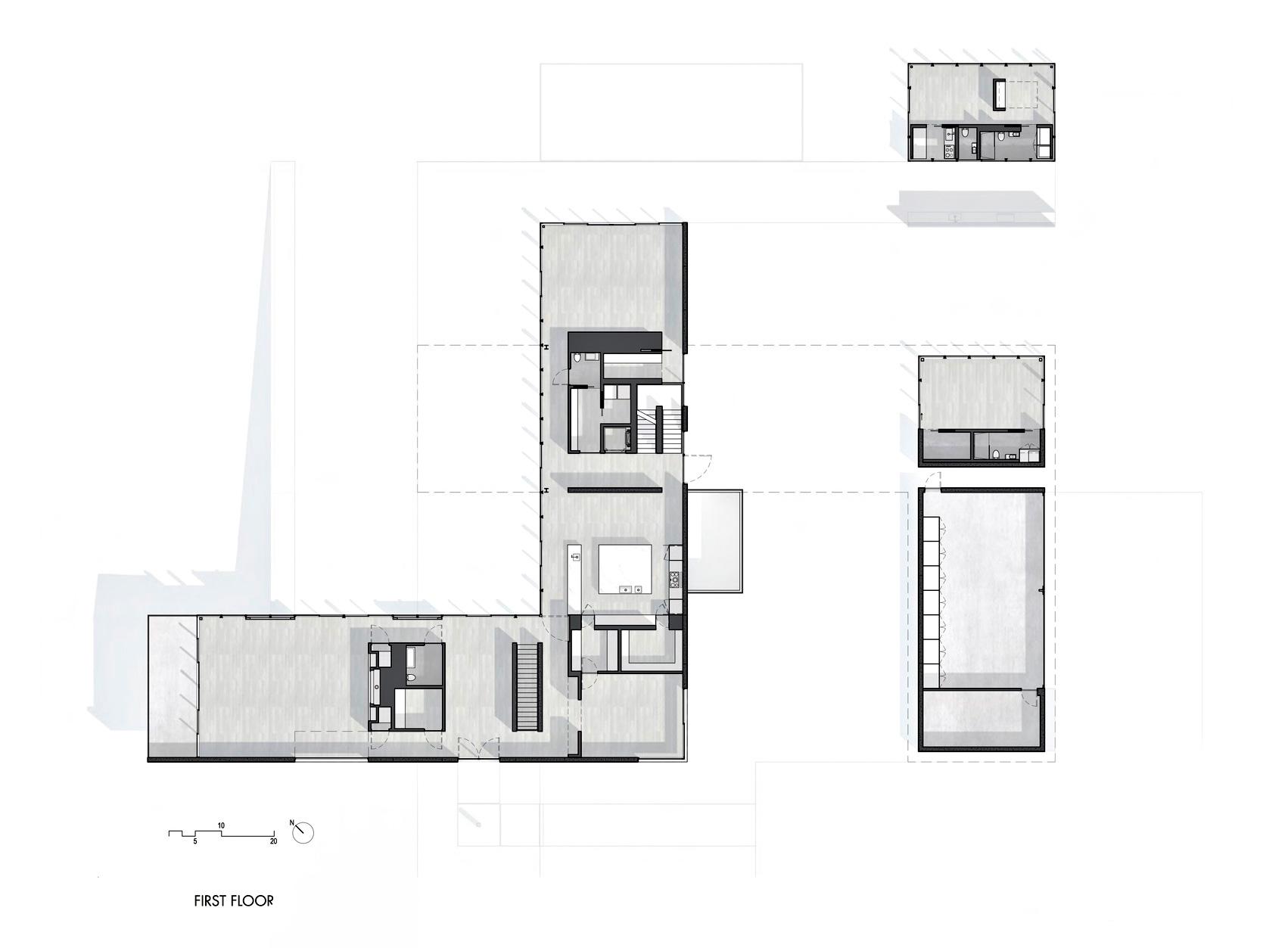 Floor Plan - Oz House Luxury Residence - Ridge View Dr, Atherton, CA, USA