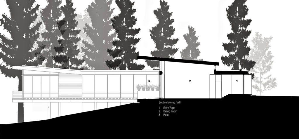 Elevation - Martis Camp 479 Luxury Residence - Truckee, CA, USA