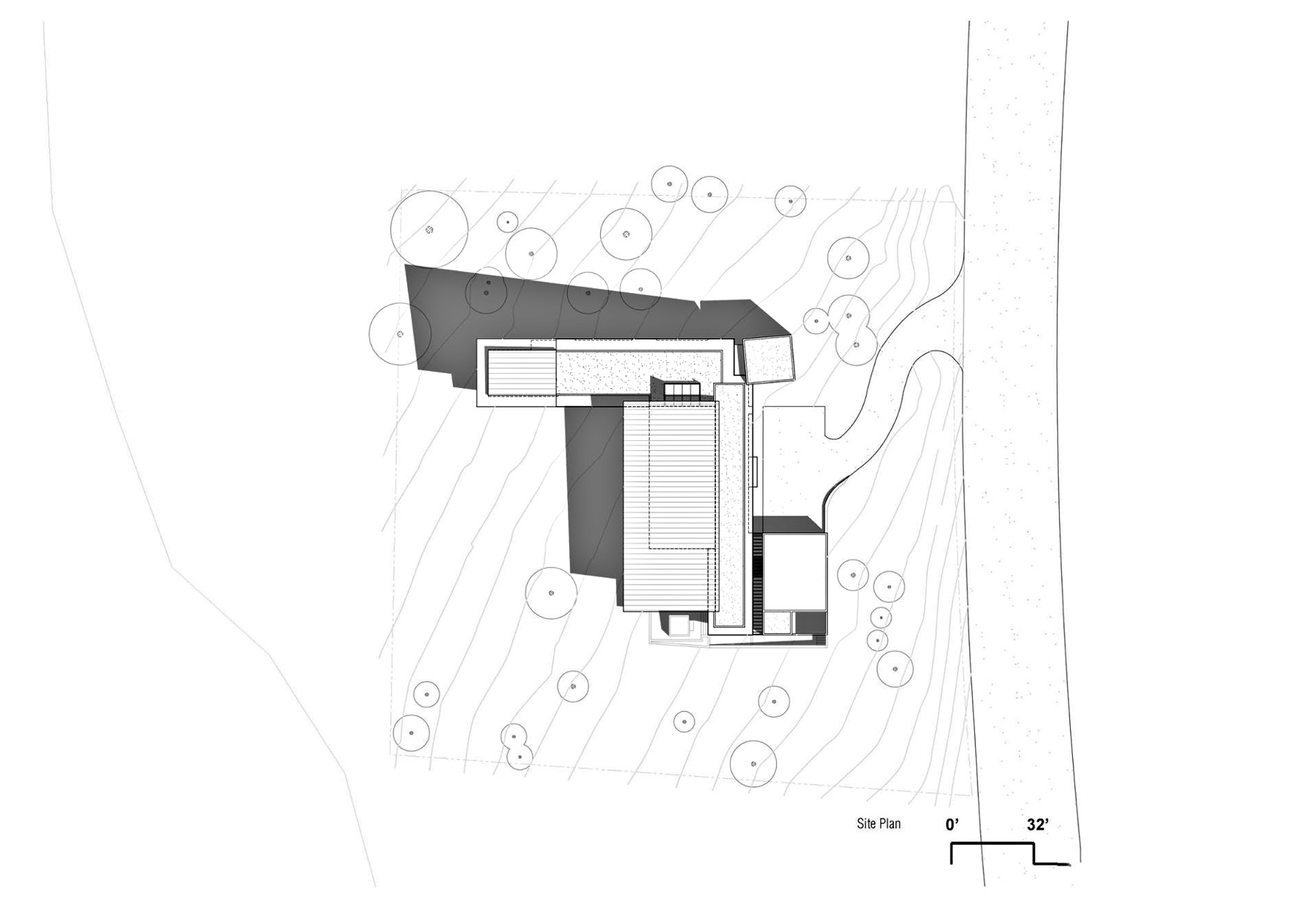 Site Plan - Martis Camp 479 Luxury Residence - Truckee, CA, USA