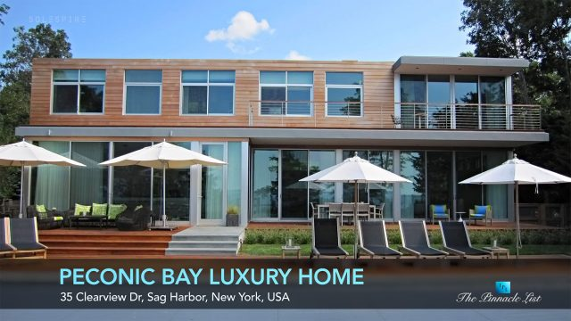 Luxury Home Design - Peconic Bay Residence - Clearview Dr, Sag Harbor, NY, USA - Luxury Real Estate