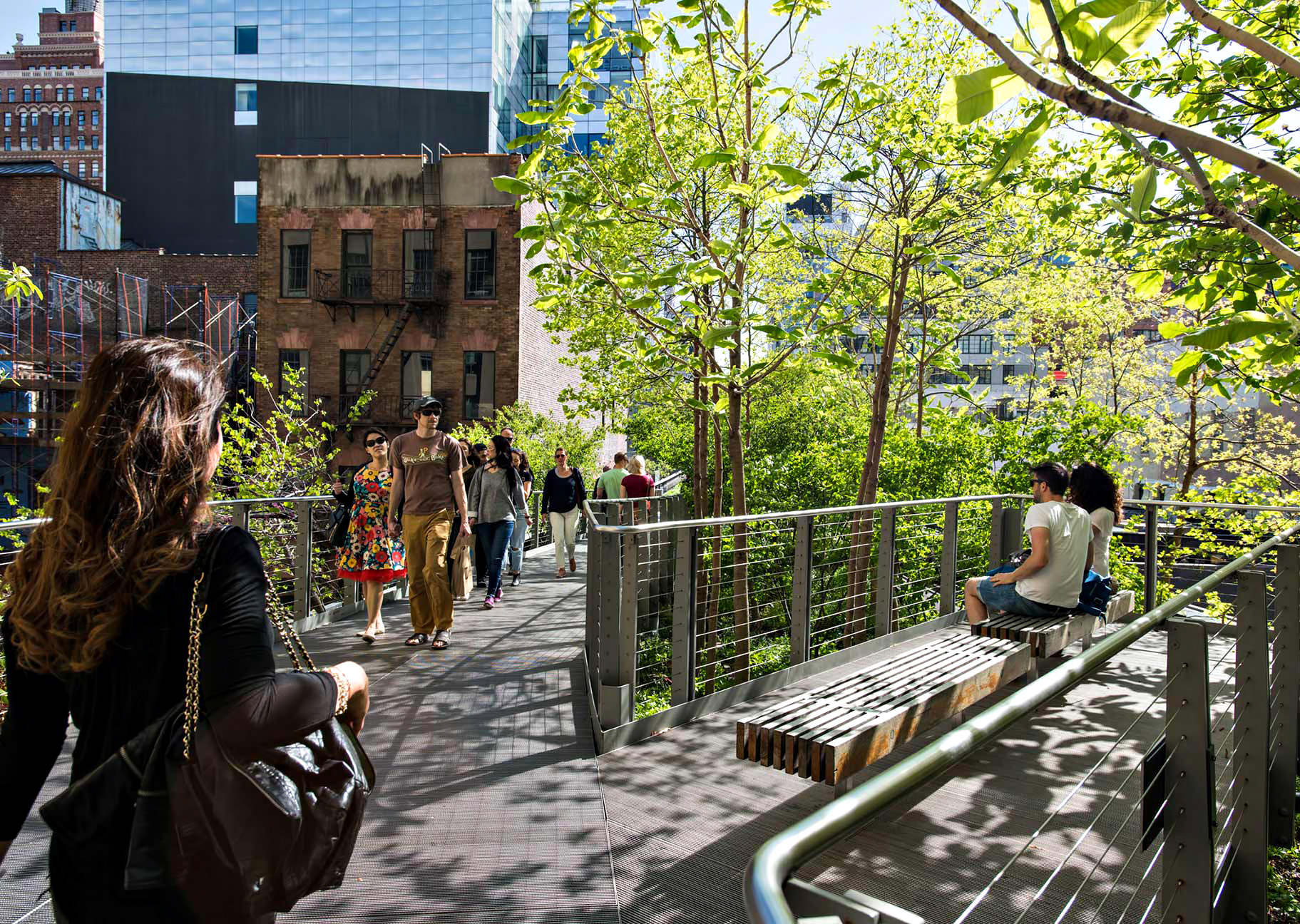 Relaxing Green Space - New York City Living - Why Couples Are Moving to Chelsea in Manhattan