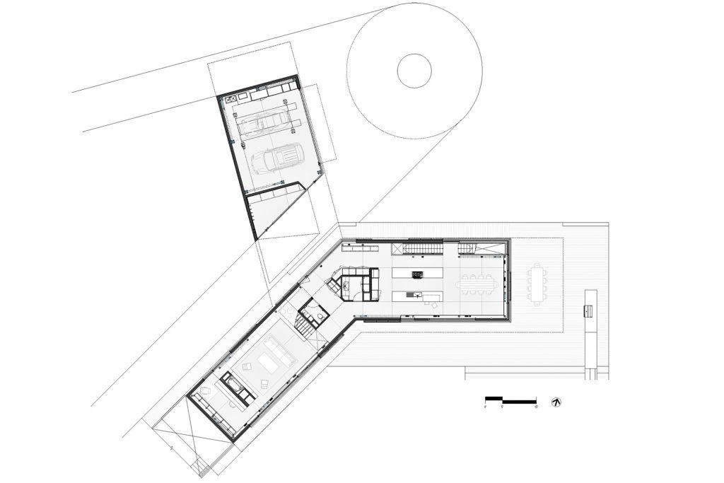 Floor Plans - Amagansett Beach House - St Marys Ln, East Hampton, NY, USA