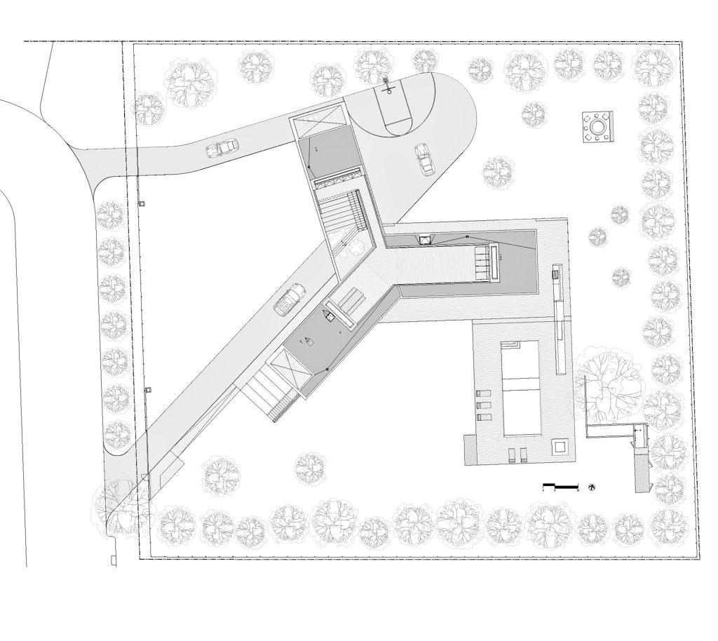 Site Plan - Amagansett Beach House - St Marys Ln, East Hampton, NY, USA