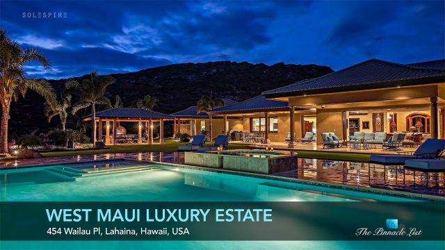 Luxury Home Design - West Maui Estate - 454 Wailau Pl, Lahaina, Hawaii, USA - Luxury Real Estate - Video