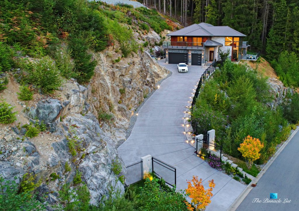 1083 Uplands Dr, Anmore, BC, Canada - Drone Aerial View - Luxury Real Estate - Greater Vancouver West Coast Modern Home