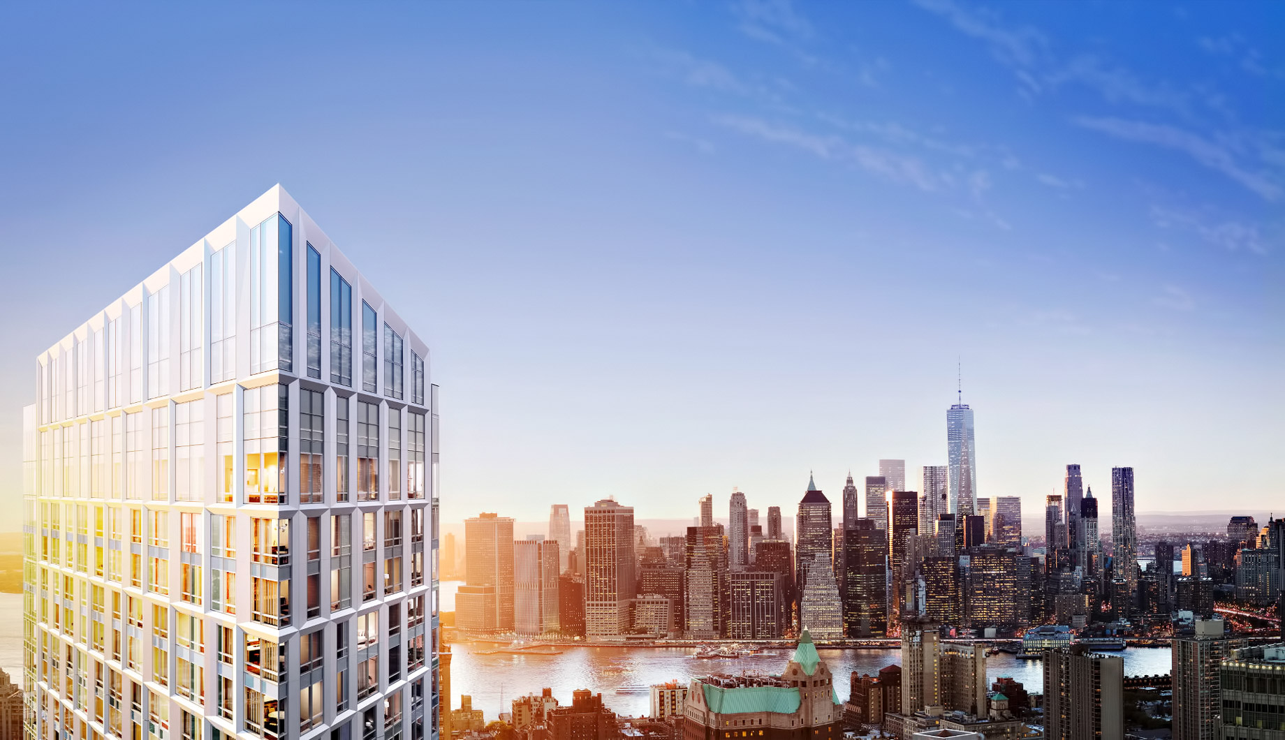 Brooklyn Point Luxury Condo Apartments – 138 Willoughby St, Brooklyn, NY, USA