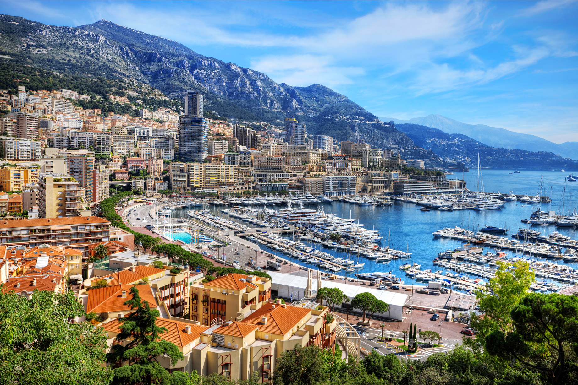 Monte Carlo, Monaco - Popular Second Home Locations for Professional Gamblers