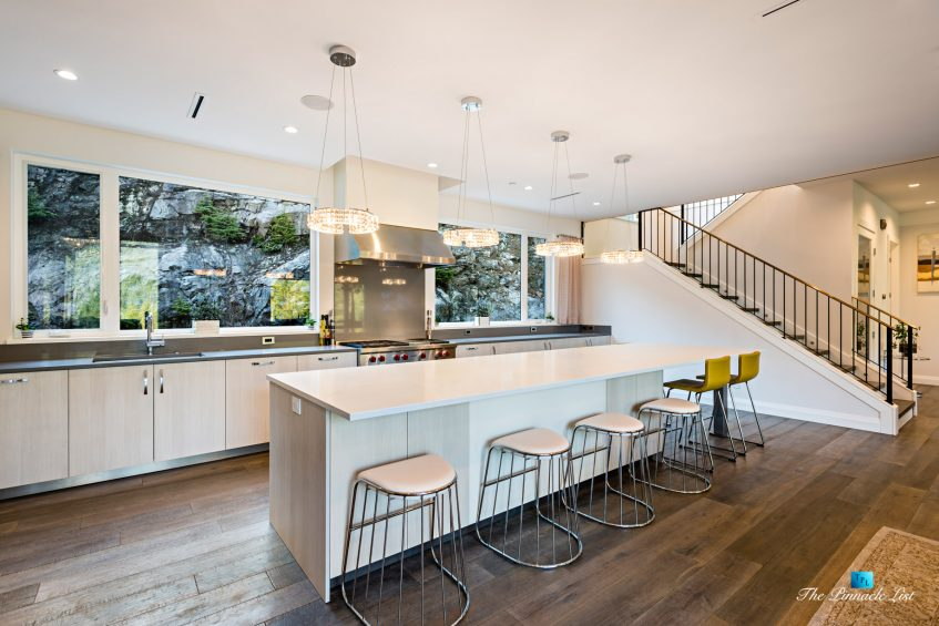 1083 Uplands Dr, Anmore, BC, Canada - Kitchen and Island - Luxury Real Estate - Greater Vancouver West Coast Modern Home