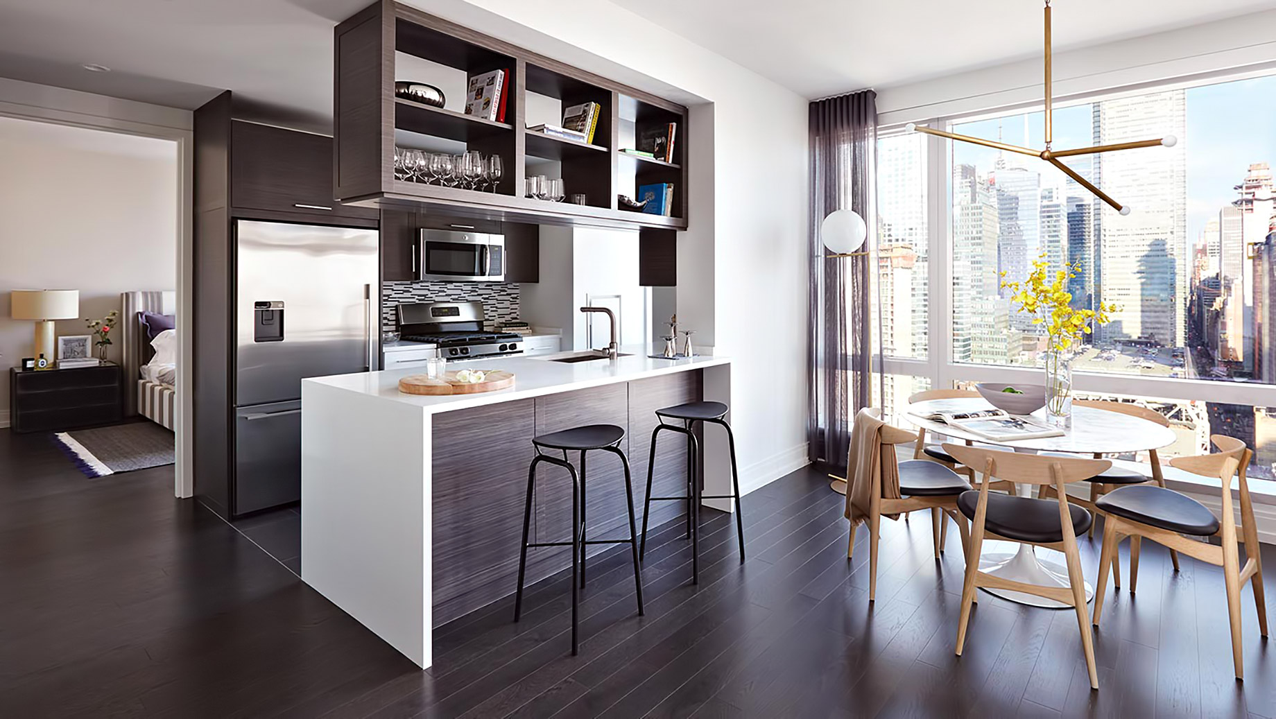 555TEN Midtown West Luxury Condo Apartments - 555 10th Ave, New York, NY, USA