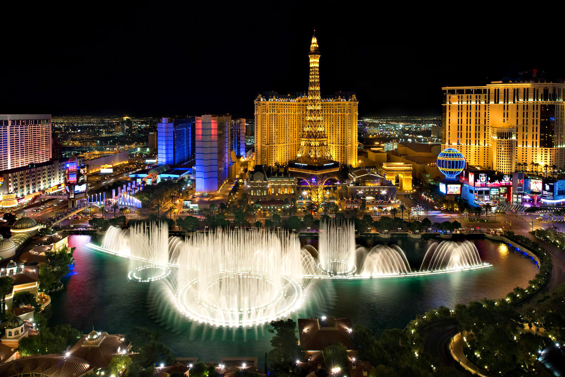 Las Vegas, Nevada - Popular Second Home Locations for Professional Gamblers