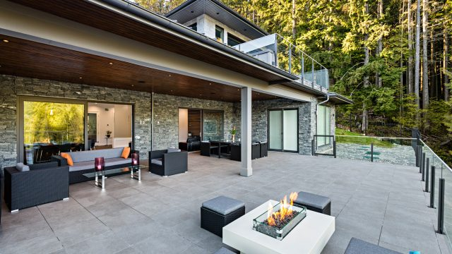 1083 Uplands Dr, Anmore, BC, Canada - Private Outdoor Deck - Luxury Real Estate - Greater Vancouver West Coast Modern Home