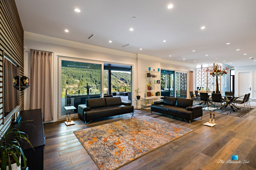 1083 Uplands Dr, Anmore, BC, Canada - Family and Living Room - Luxury Real Estate - Greater Vancouver West Coast Modern Home