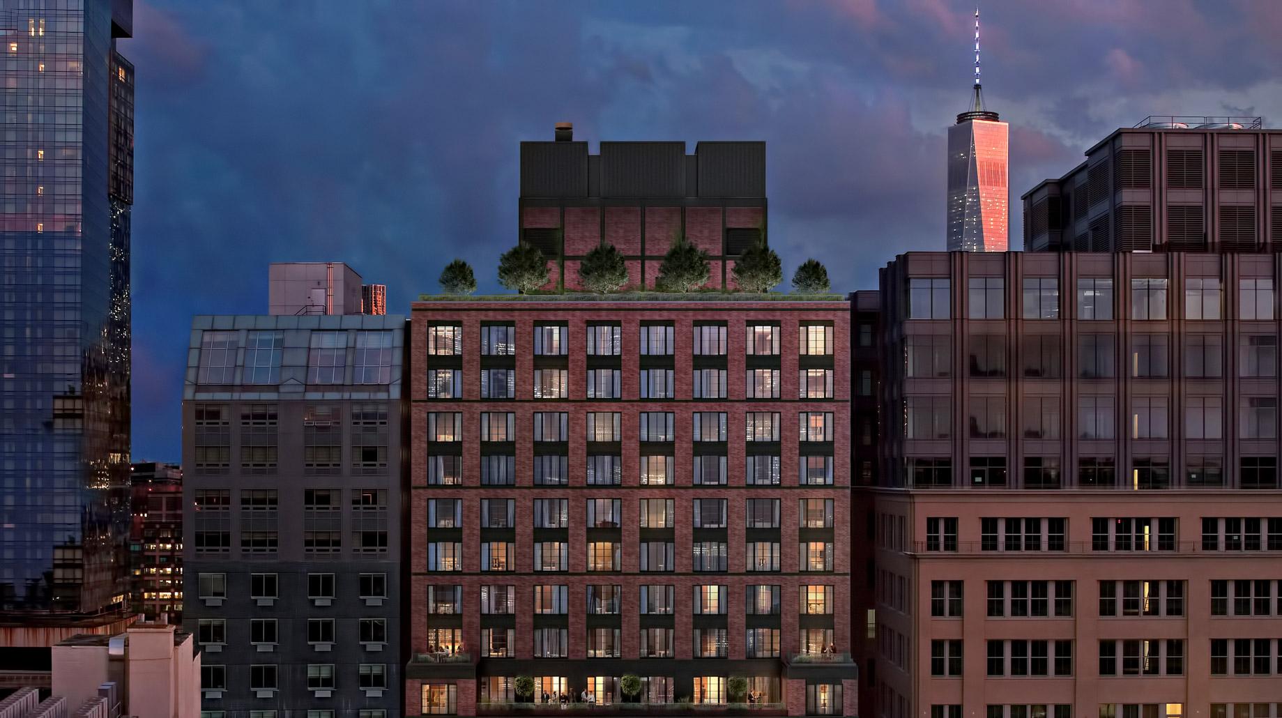 70 Charlton West SoHo Luxury Condo Apartments - 70 Charlton St, New York, NY, USA