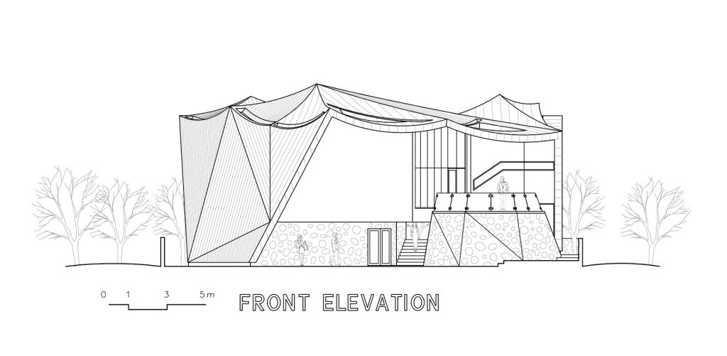 Front Elevation - Ga On Jai Residence - Seongnam, Gyeonggi, South Korea