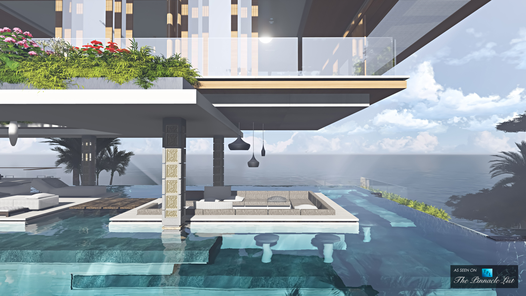 Xalima Island Water Pavilion – A Vision of Tropical Luxury Beyond Reality