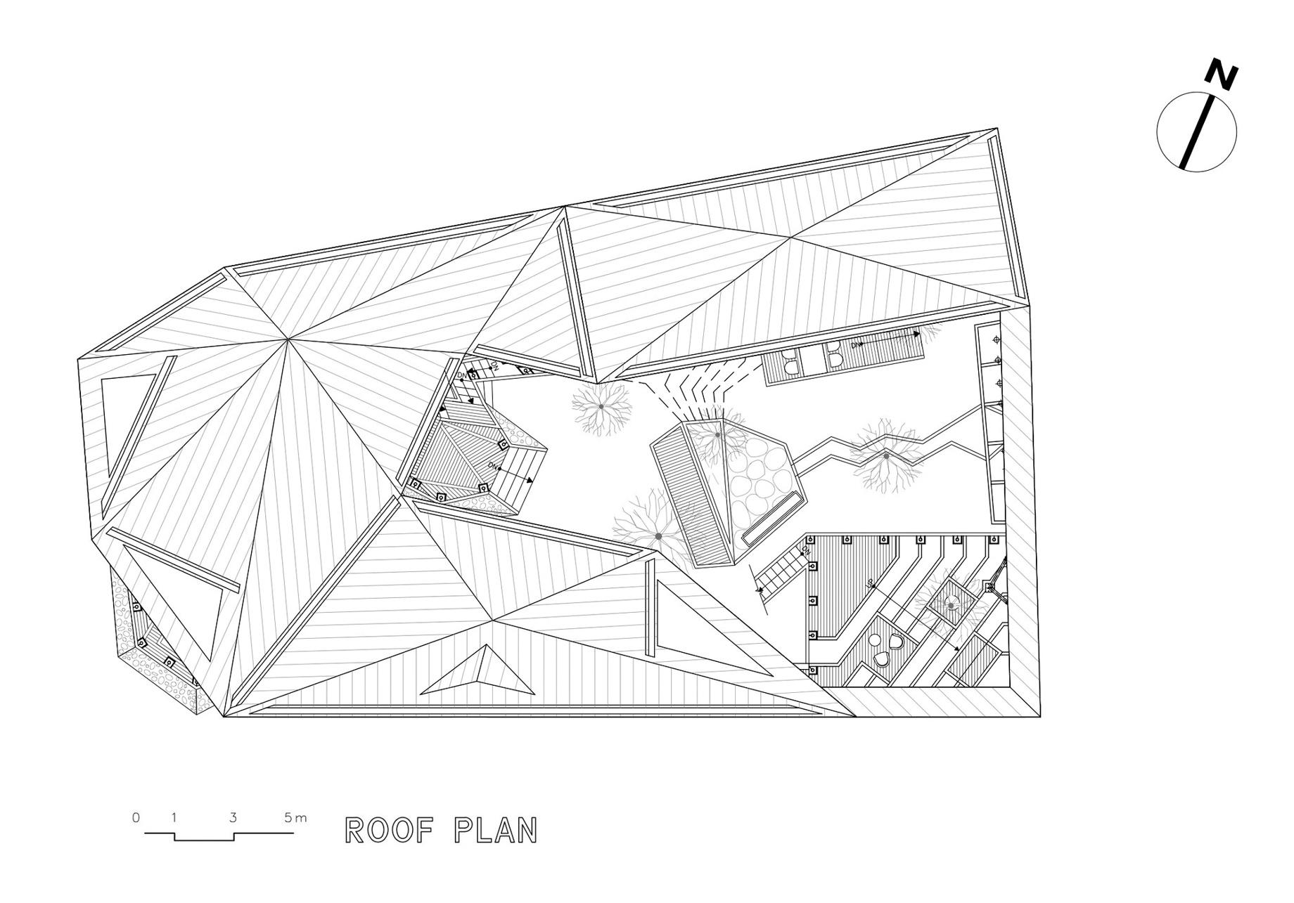 Third Floor Plan - Ga On Jai Residence - Seongnam, Gyeonggi, South Korea