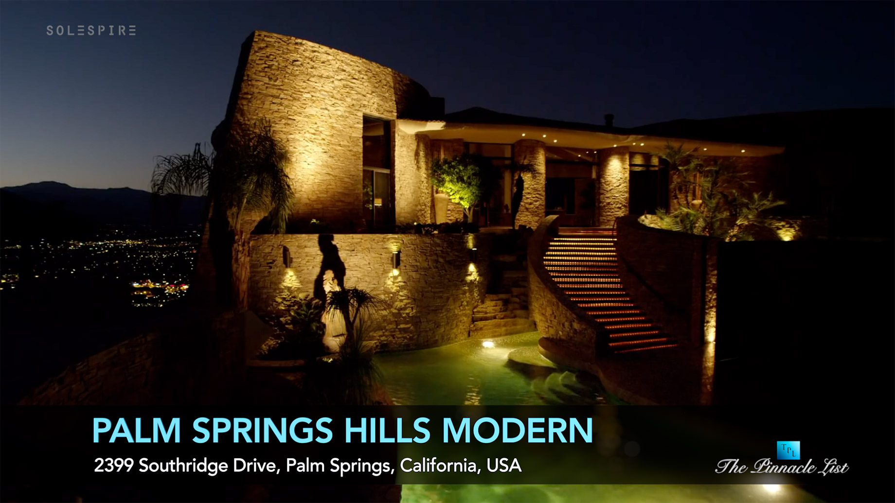 Luxury Modern Estate - 2399 Southridge Dr, Palm Springs, CA, USA - Luxury Real Estate - Video