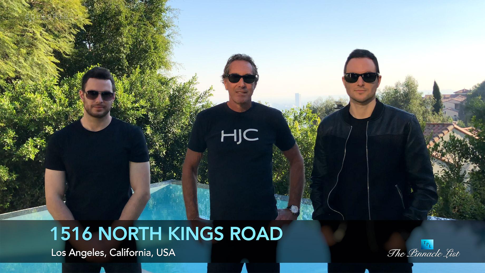 1516 N Kings Rd, Los Angeles, CA, USA - Derek Alexander, Marcus Anthony & Bob Hurwitz - Luxury Real Estate - Video