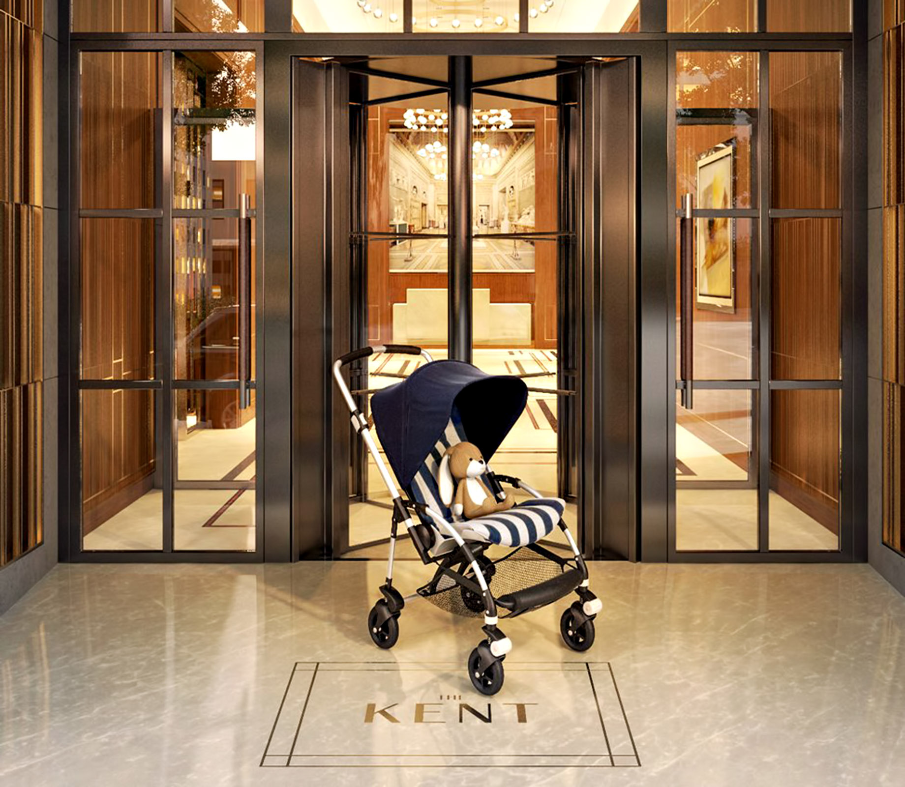 The Kent NYC - Stroller Valet