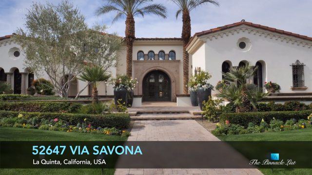 52647 Via Savona, La Quinta, California, USA - Luxury Real Estate - Video