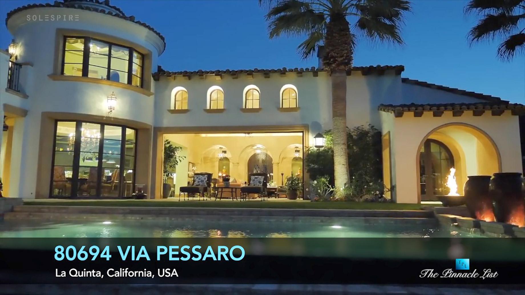 80694 Via Pessaro, La Quinta, CA, USA - Luxury Real Estate - Video