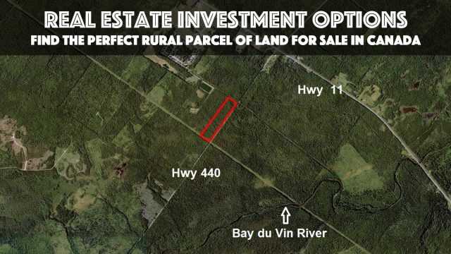 Real Estate Investment Options - Find the Perfect Rural Parcel of Land for Sale in Canada
