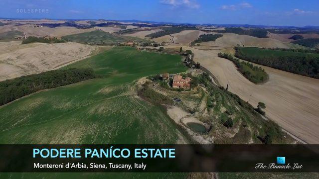 Podere Paníco Estate - Monteroni d'Arbia, Siena, Tuscany, Italy - Luxury Real Estate - Video