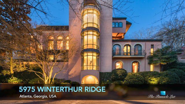 Trophy Estate - 5975 Winterthur Rdg, Atlanta, Georgia, USA - Luxury Real Estate - Video