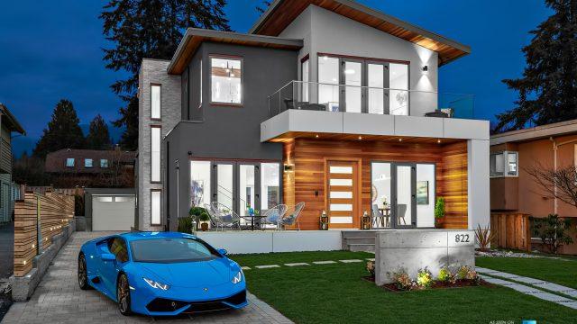 Luxury Real Estate - 822 Cumberland Crescent, North Vancouver, BC, Canada