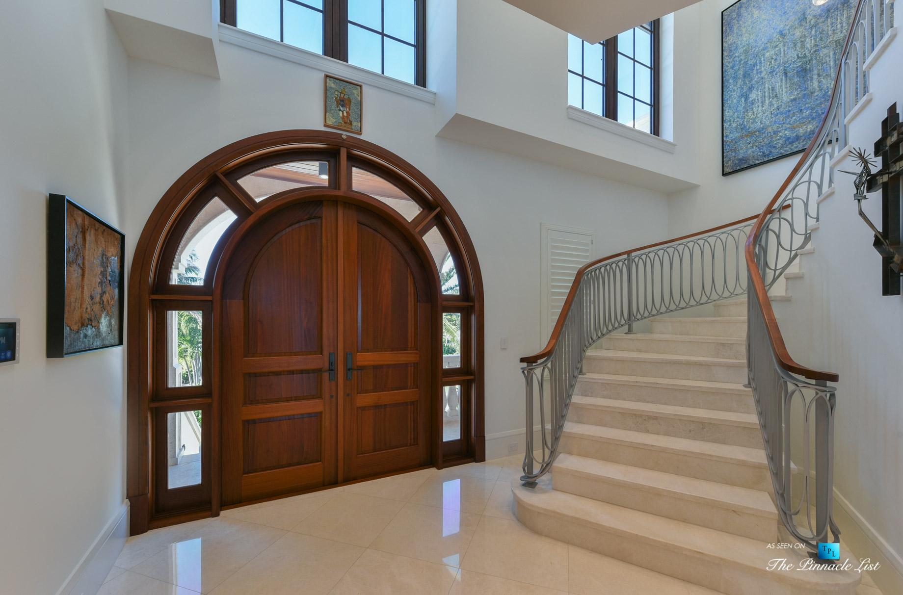 103 Andros Rd, Key Largo, FL, USA - Foyer - Luxury Real Estate - Ocean Reef Club Home