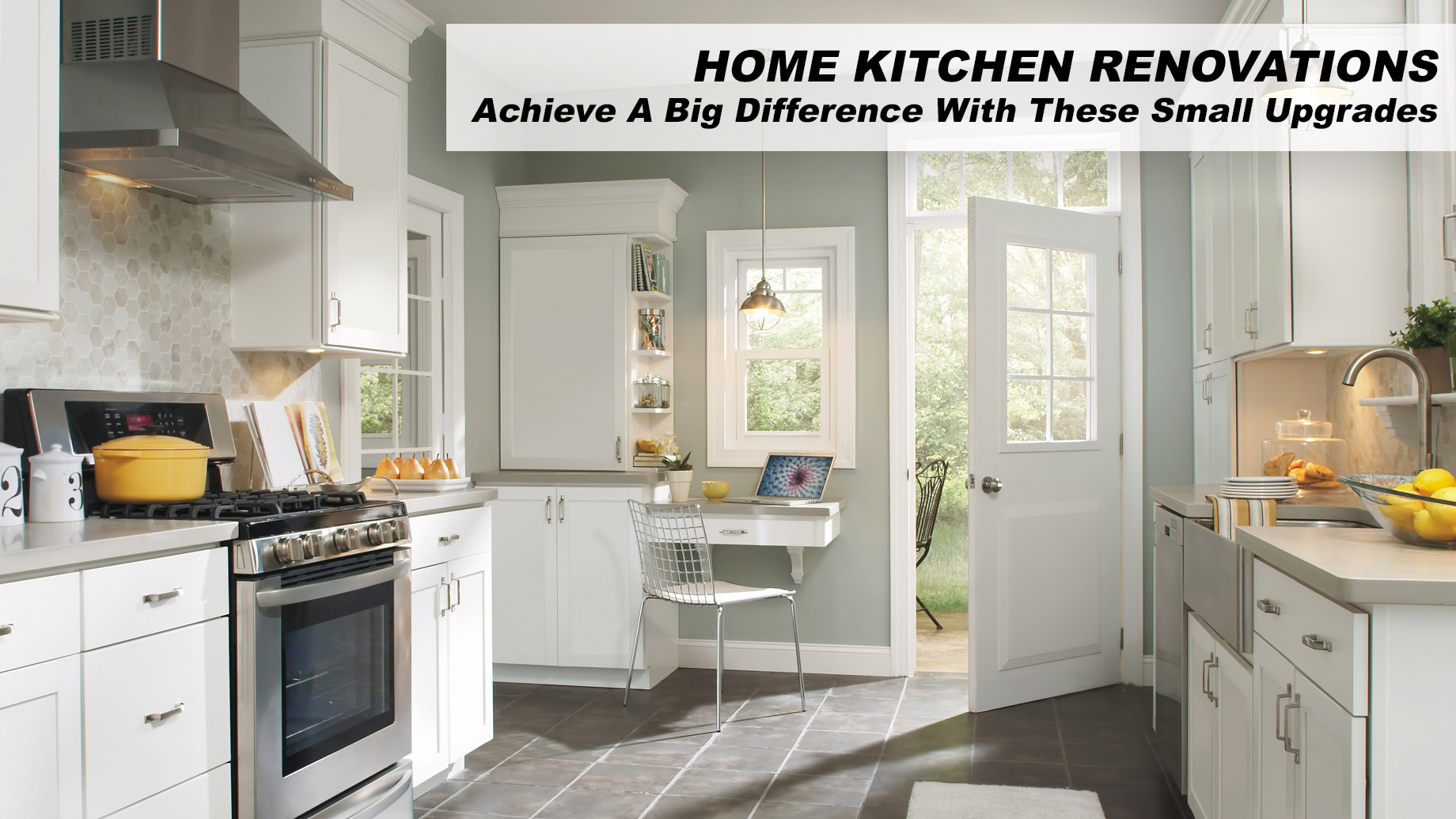 Home Kitchen Renovations - Achieve A Big Difference With These Small Upgrades