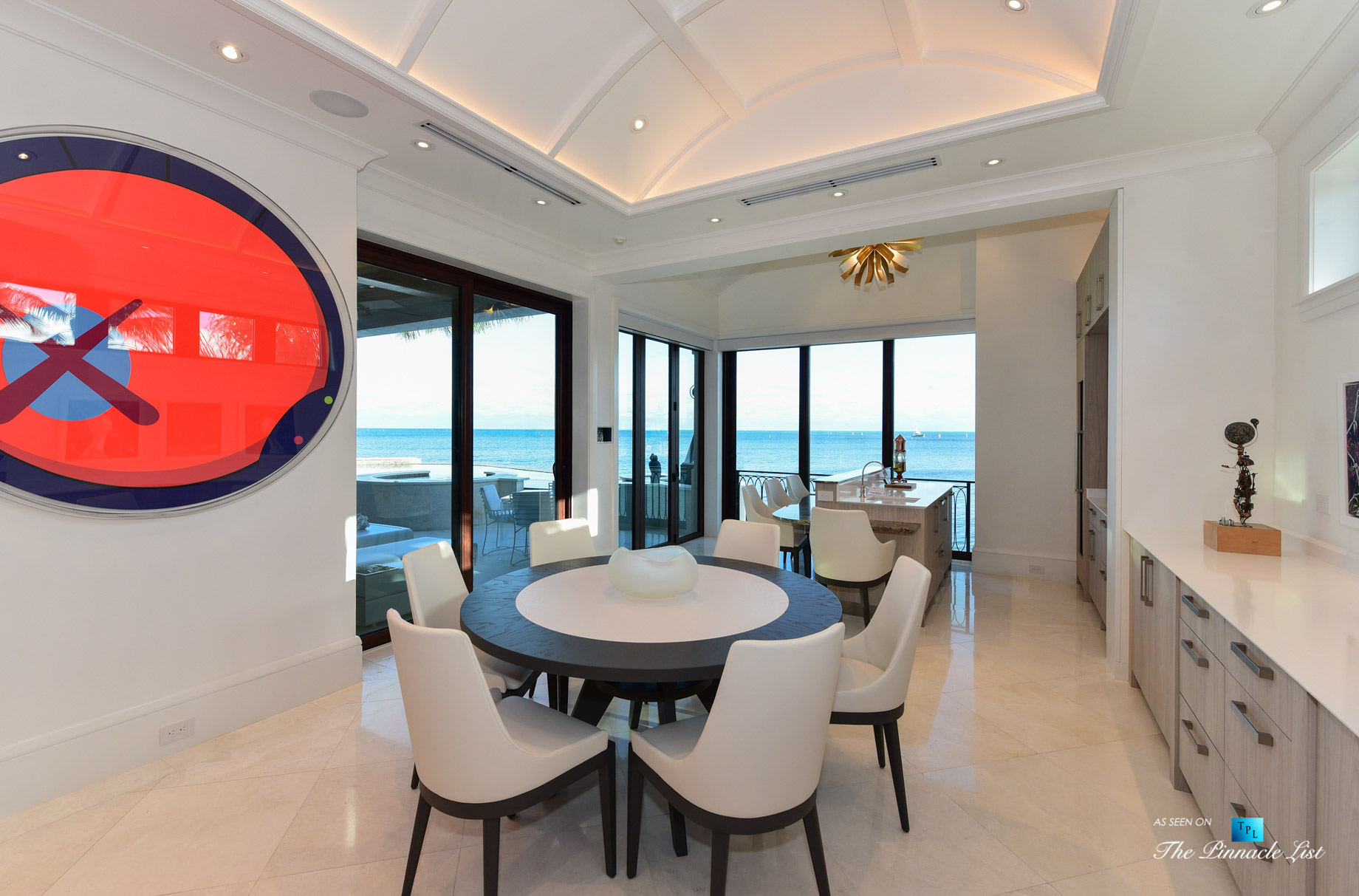 103 Andros Rd, Key Largo, FL, USA – Oceanview Kitchen – Luxury Real Estate – Ocean Reef Club Home