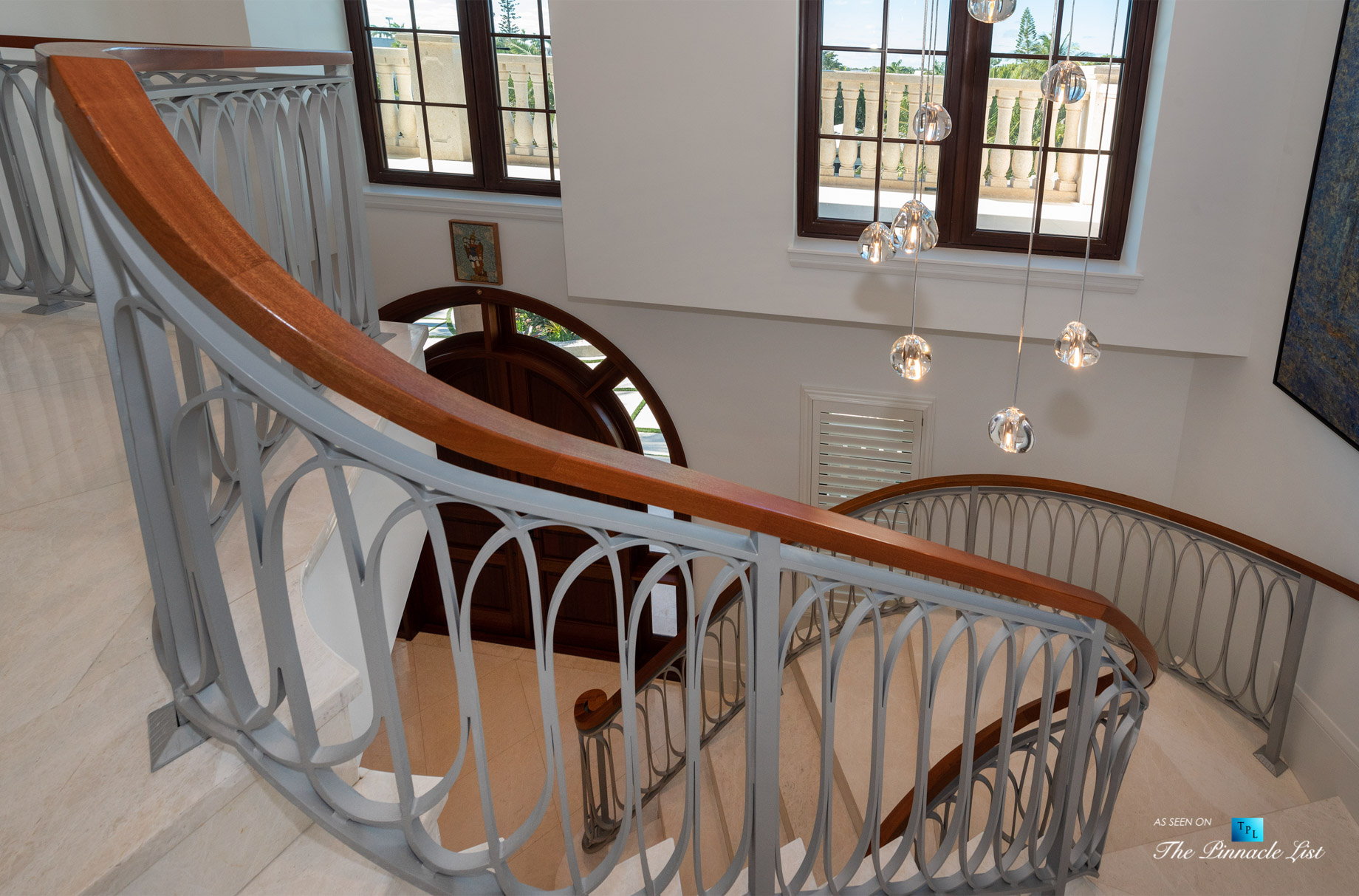 103 Andros Rd, Key Largo, FL, USA – Stairs – Luxury Real Estate – Ocean Reef Club Home