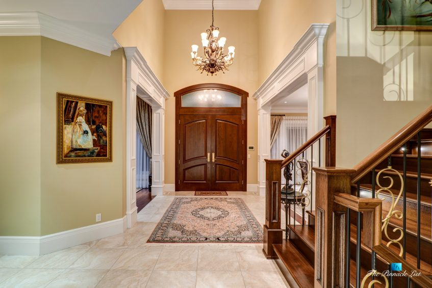 2057 Ridge Mountain Drive, Anmore, BC, Canada - Front Door Foyer - Luxury Real Estate - West Coast Greater Vancouver Home