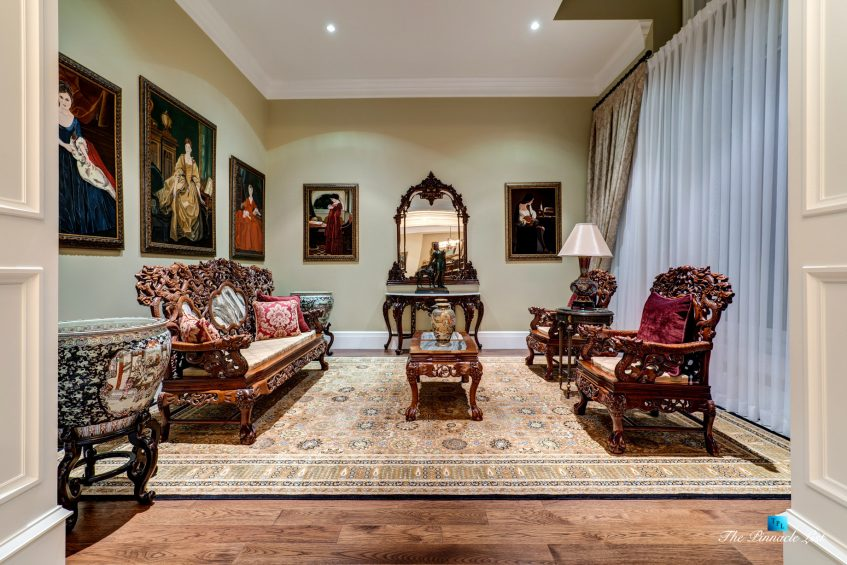 2057 Ridge Mountain Drive, Anmore, BC, Canada - Formal Living Room - Luxury Real Estate - West Coast Greater Vancouver Home