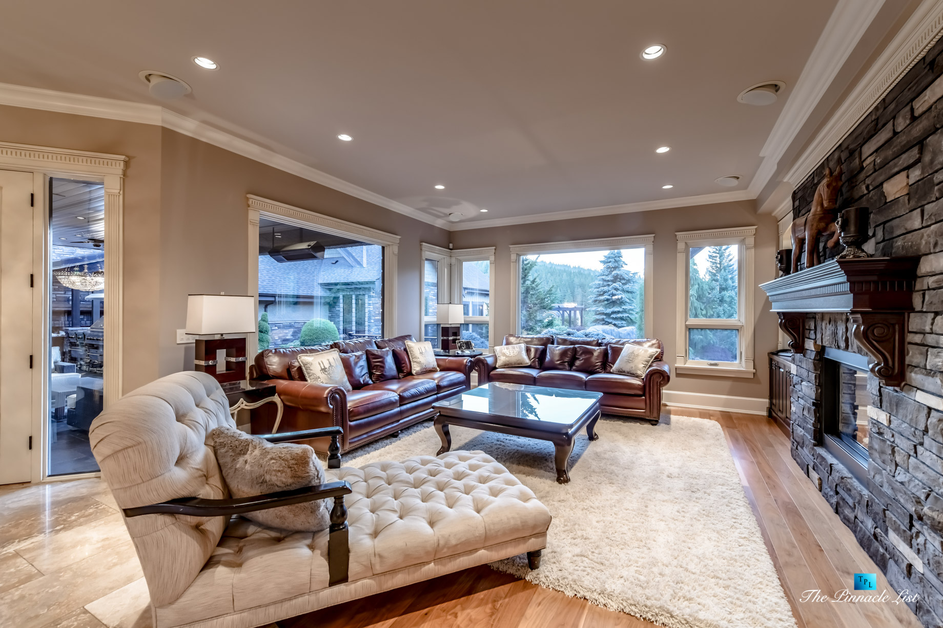 3053 Anmore Creek Way, Anmore, BC, Canada – Family Room – Luxury Real Estate – Greater Vancouver Home
