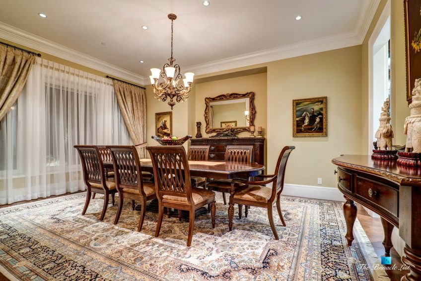 2057 Ridge Mountain Drive, Anmore, BC, Canada - Formal Dining Room - Luxury Real Estate - West Coast Greater Vancouver Home