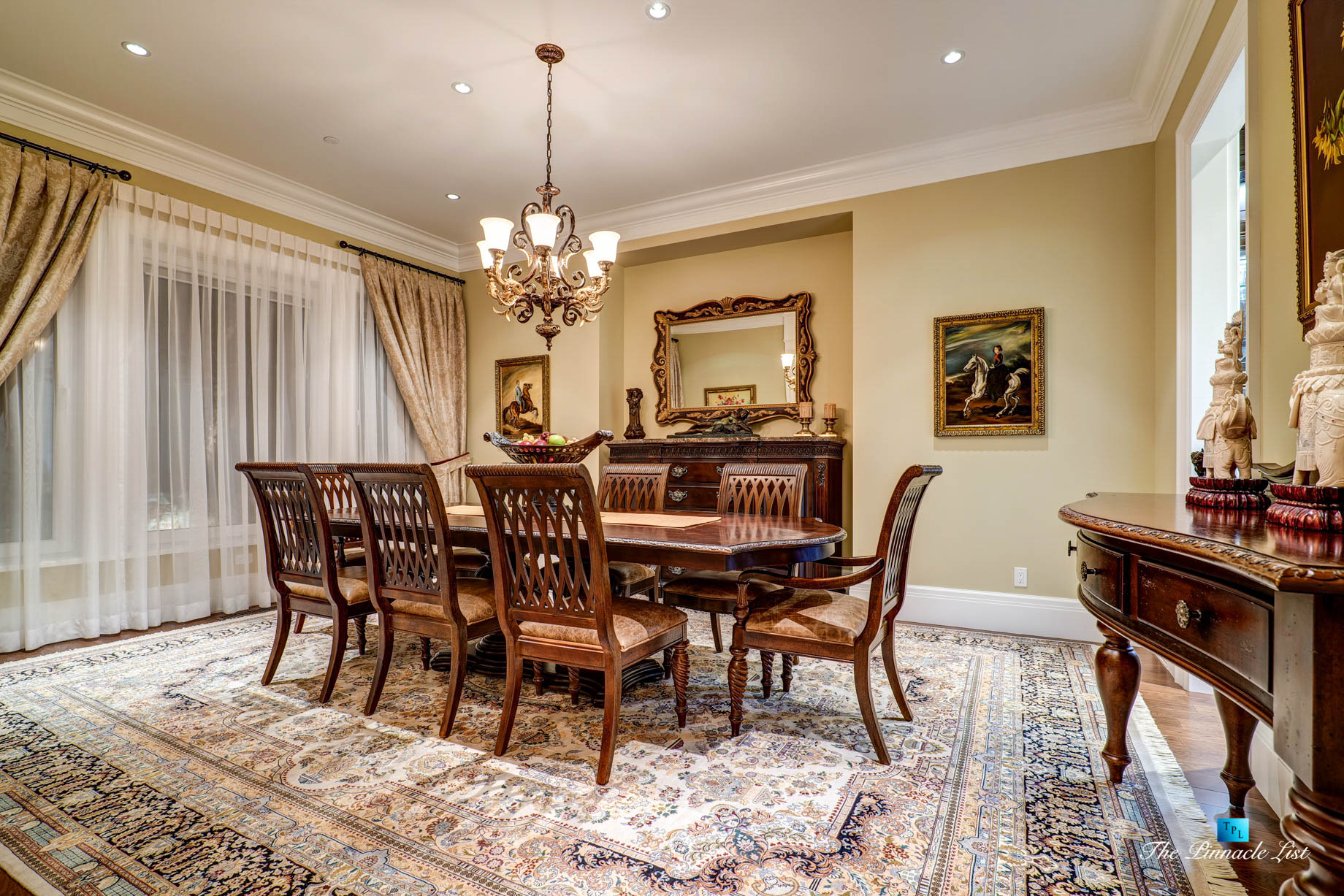 2057 Ridge Mountain Drive, Anmore, BC, Canada – Formal Dining Room – Luxury Real Estate – West Coast Greater Vancouver Home