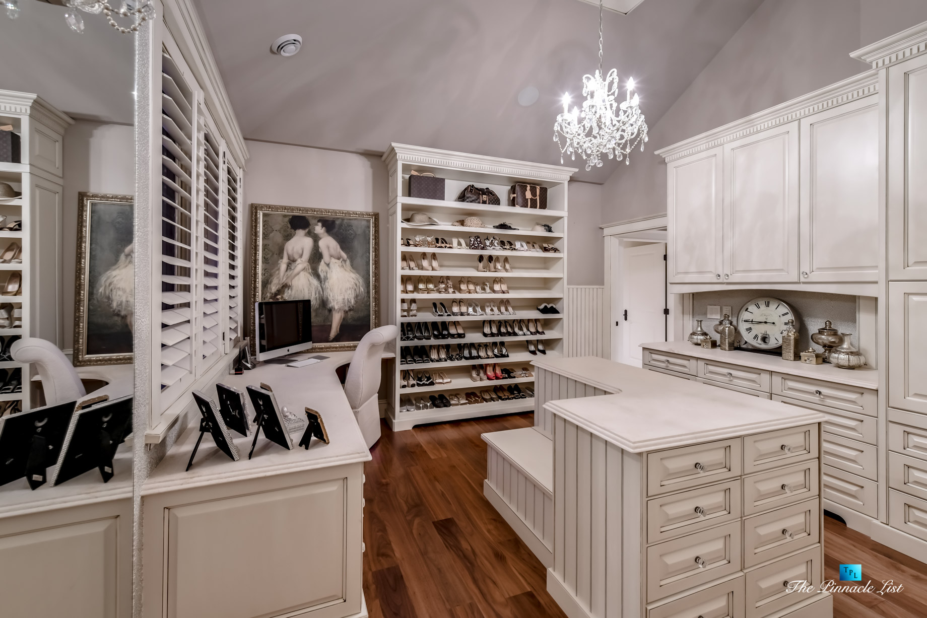 3053 Anmore Creek Way, Anmore, BC, Canada - Master Walk In Closet for Her - Luxury Real Estate - Greater Vancouver Home