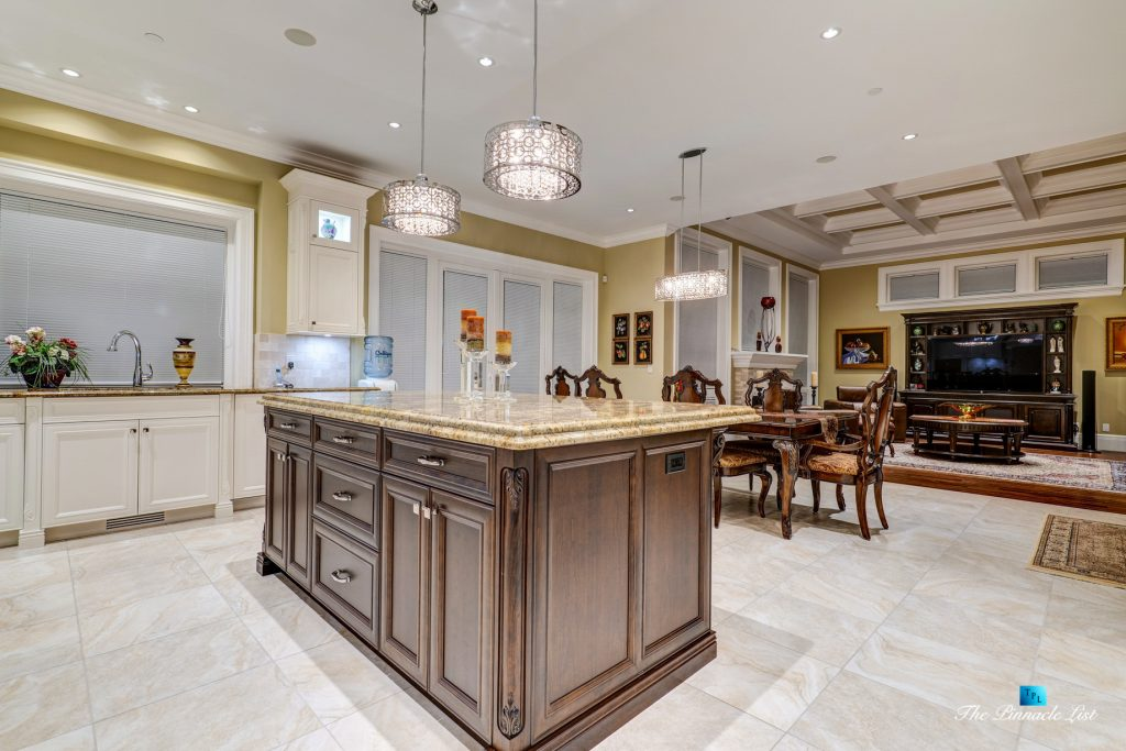 2057 Ridge Mountain Drive, Anmore, BC, Canada - Kitchen and Family Room - Luxury Real Estate - West Coast Greater Vancouver Home