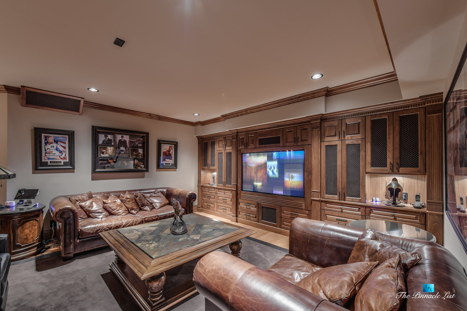 3053 Anmore Creek Way, Anmore, BC, Canada - Basement Man Cave Theatre - Luxury Real Estate - Greater Vancouver Home