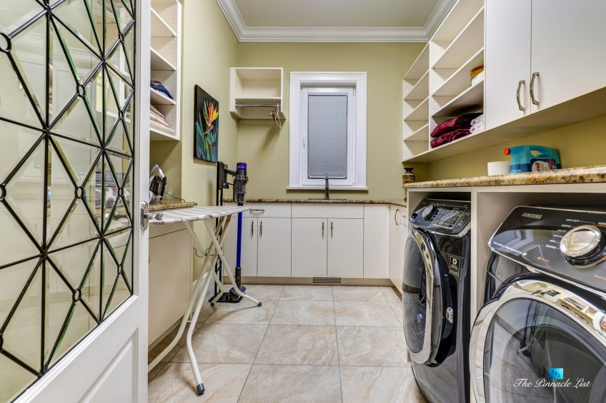 2057 Ridge Mountain Drive, Anmore, BC, Canada - Laundry Room - Luxury Real Estate - West Coast Greater Vancouver Home