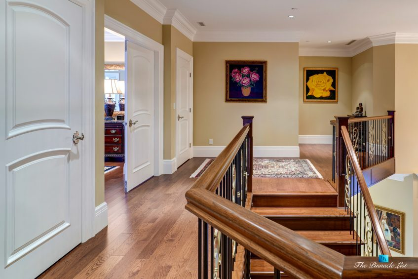2057 Ridge Mountain Drive, Anmore, BC, Canada - Stairs - Luxury Real Estate - West Coast Greater Vancouver Home