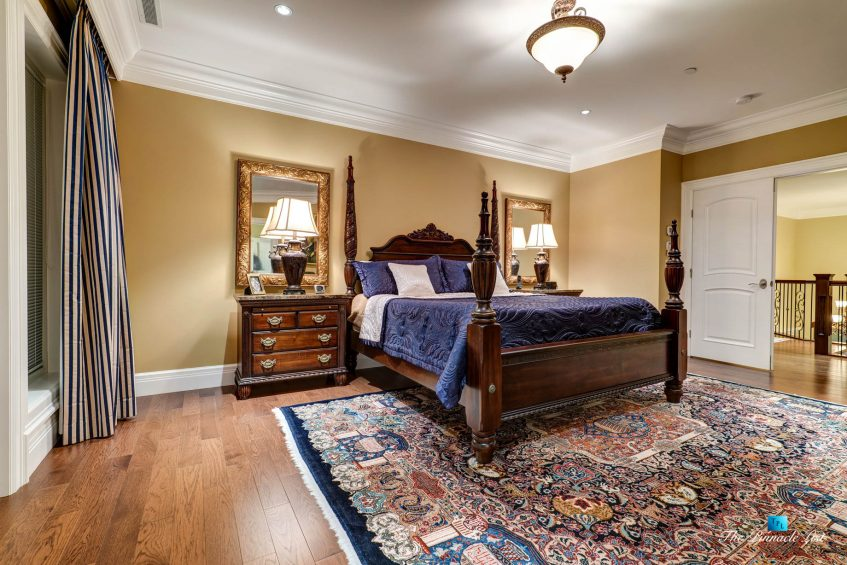 2057 Ridge Mountain Drive, Anmore, BC, Canada - Master Bedroom - Luxury Real Estate - West Coast Greater Vancouver Home