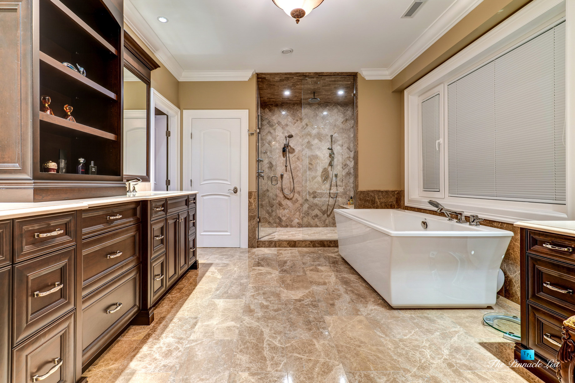 2057 Ridge Mountain Drive, Anmore, BC, Canada – Master Bathroom – Luxury Real Estate – West Coast Greater Vancouver Home