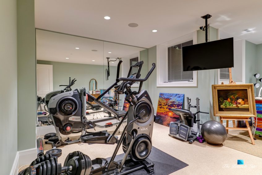 2057 Ridge Mountain Drive, Anmore, BC, Canada - Gym - Luxury Real Estate - West Coast Greater Vancouver Home