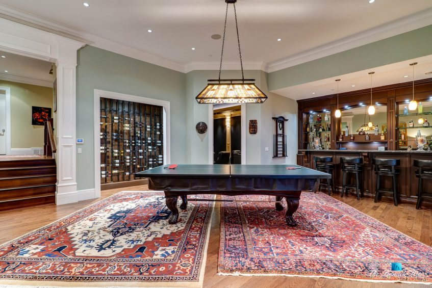 2057 Ridge Mountain Drive, Anmore, BC, Canada - Entertainment Room and Bar - Luxury Real Estate - West Coast Greater Vancouver Home