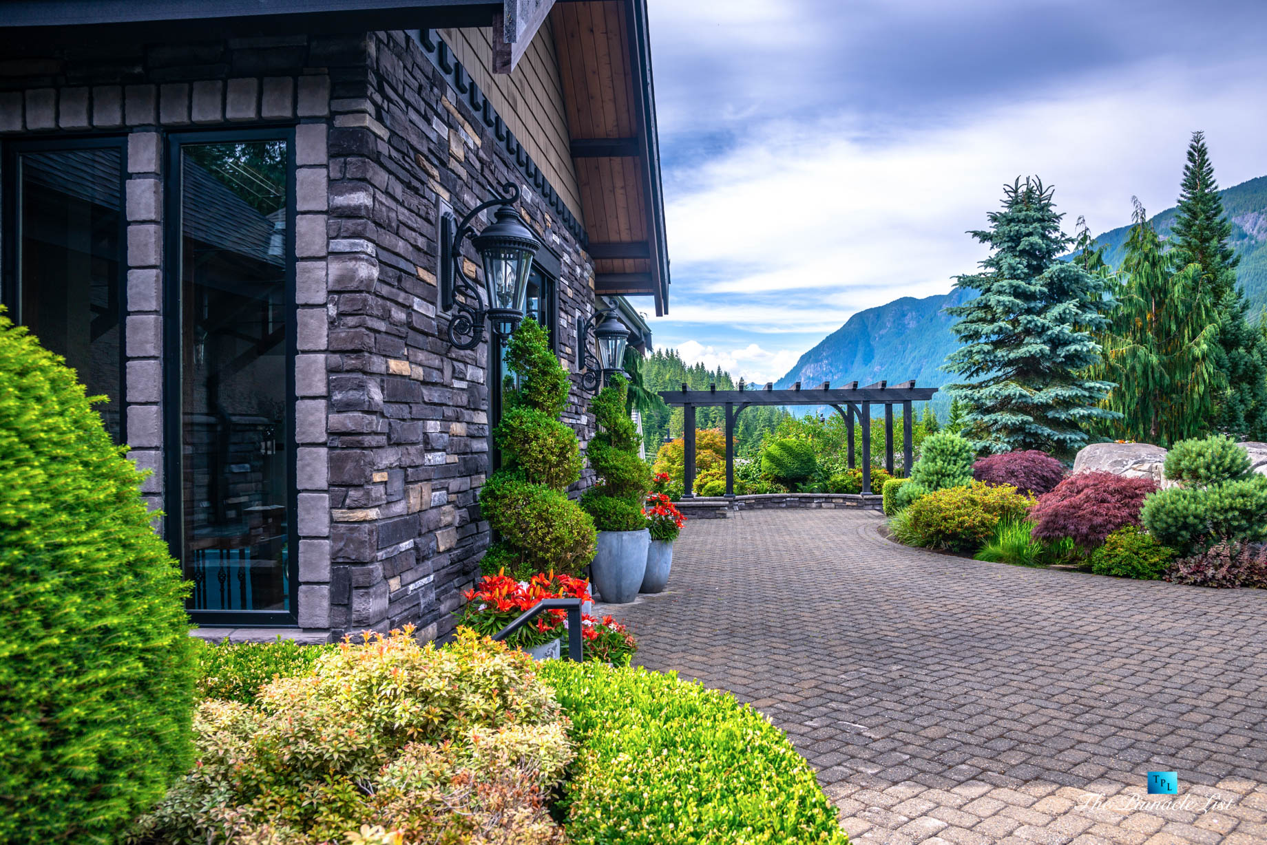 3053 Anmore Creek Way, Anmore, BC, Canada - Backyard Landscaping - Luxury Real Estate - Greater Vancouver Home