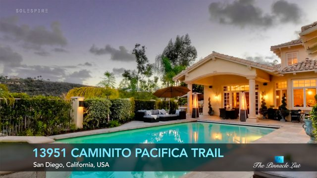 13951 Caminito Pacifica Trail, San Diego, CA, USA - Luxury Real Estate - Video